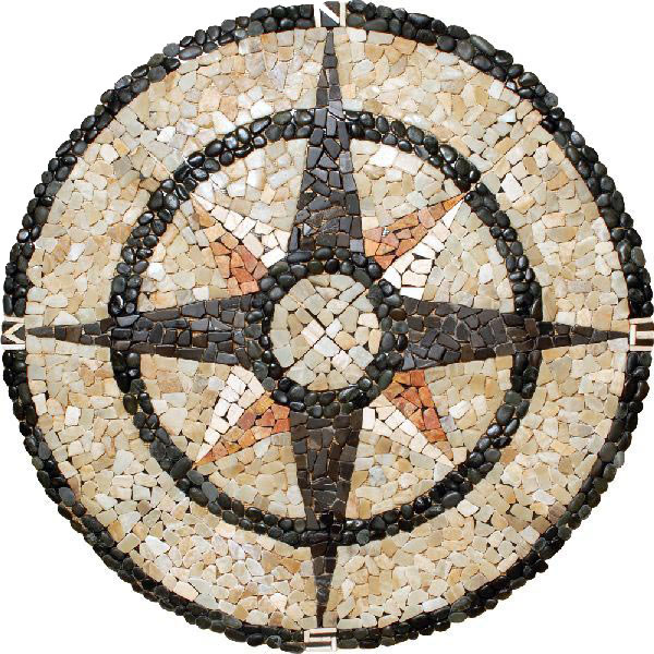 natural watch waterjet mosaic hqdefault youtube floor medallions medallion stone