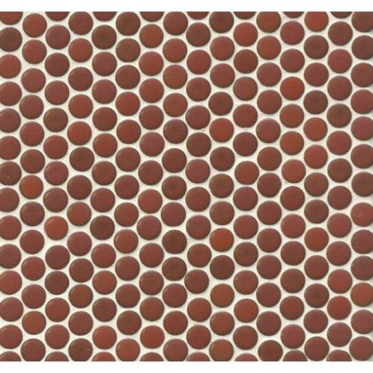 Ceramic cardinal for mosaics.