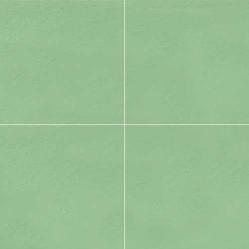 Granada Cement Tile Sage Solid Color