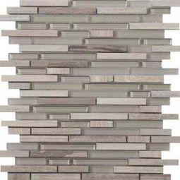 Emser Tile Lucente Certosa Linear Stone Gl Mosaic Blend