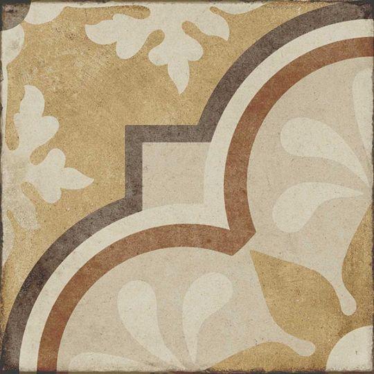 Fiore 7 Petali.Daltile Quartetto Warm Grande Fiore Porcelain Tile