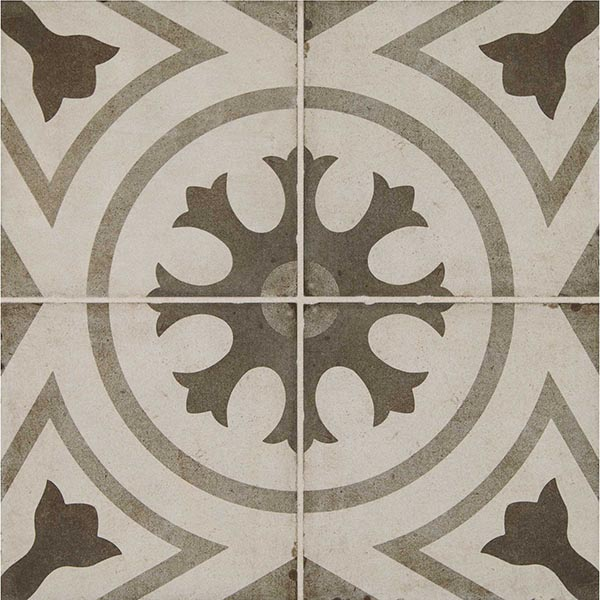 Daltile Quartetto Cool Circolo Porcelain Tile