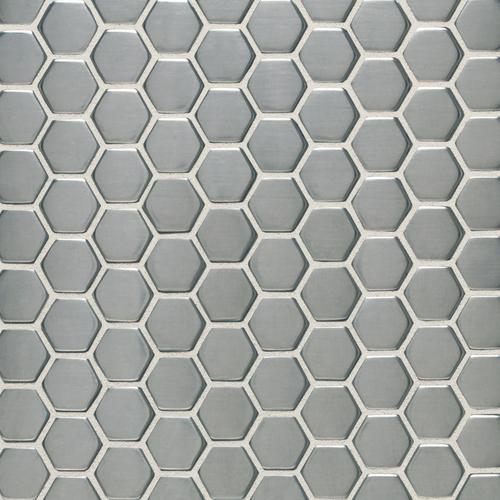 Daltile Metallica Hexagon Mosaic 1 Quot X 1 Quot Gbtile Collections