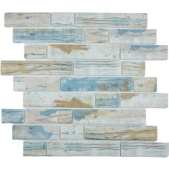 Tesoro Bark - Bay Multilinear Mosaic